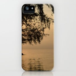 Tranquil Lagoon iPhone Case