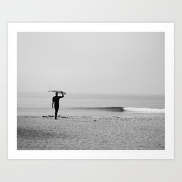 Surf Photography Print, Malibu California, Surf Art, Surf Decor, Black and White Print, Wall Art Art Print