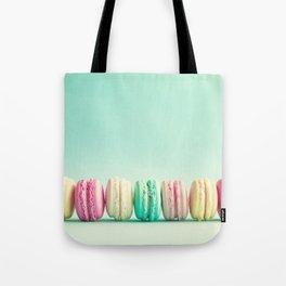 Macarons, macaroons row, pop art Tote Bag