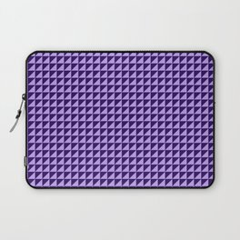 Purple Triangulate Laptop Sleeve
