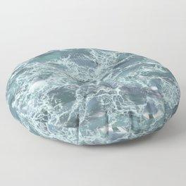 Marbled Rapids Floor Pillow