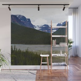 Stutfield Glacier along the Icefields Parkway  in Jasper National Park, Canada Wall Mural
