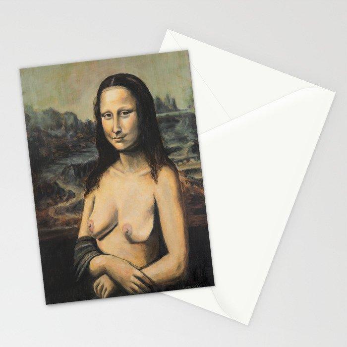 Moaner Lisa Stationery Cards