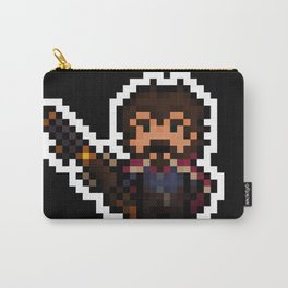 Graves, The Pixel Gunslinger - black version Carry-All Pouch