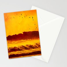 Golden Sunset - for iphone Stationery Cards
