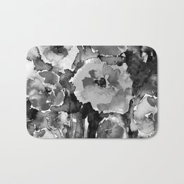 Floral Enchantment No.17D by Kathy Morton Stanion Bath Mat