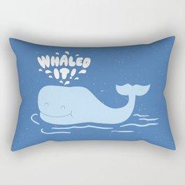 Whaled It Rectangular Pillow