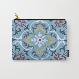 Calligraphy Flower Carry-All Pouch