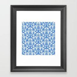 Tunisian Blue Casbah Framed Art Print