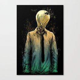 No more ideas Canvas Print