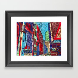 Back Alleys Aren't So Bad Framed Art Print