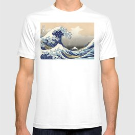 Katsushika Hokusai, The Great Wave off Kanagawa, 1831 T-shirt