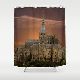 Mont-Saint-Michel Shower Curtain
