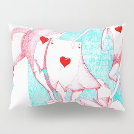 Playing With love Pillow Sham