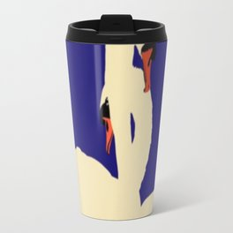 Swans Entwined Travel Mug