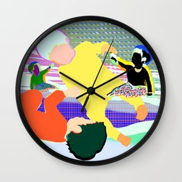 Gravitypeople Wall Clock