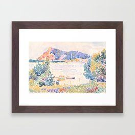 Cap Nègre by Henri-Edmond Cross 1909, French Framed Art Print