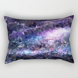 Galaxy Low Poly 42 Rectangular Pillow