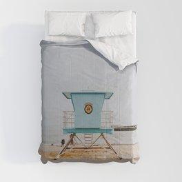 no lifeguard iv / santa cruz, california Comforters