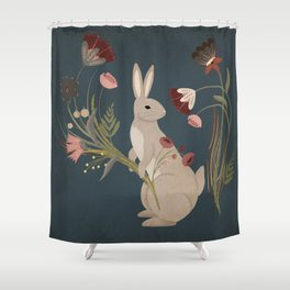 Gathering The Soft Beauty Of Autumn Shower Curtain