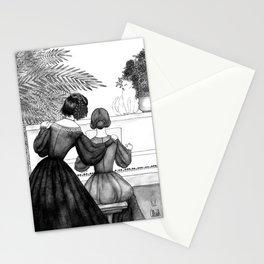 Inktober2016: Socialite witch Stationery Cards