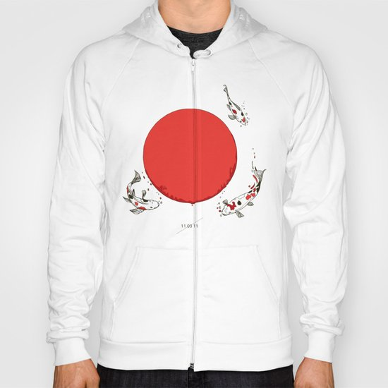 Koi and Sun Hoody