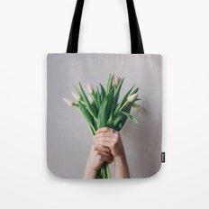 Yay Tulips! Tote Bag
