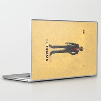 "obama Laptop & iPad Skins featuring EL OBAMA by ""dfrnt"""