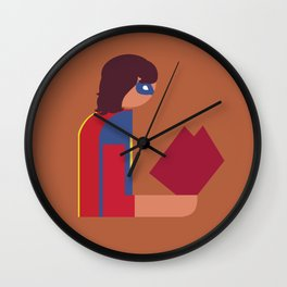 Ms Lady Reads Wall Clock