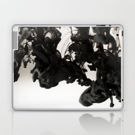 Black ink in water Laptop & iPad Skin