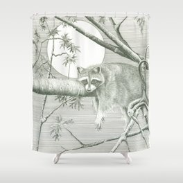 Hangin' Around Shower Curtain