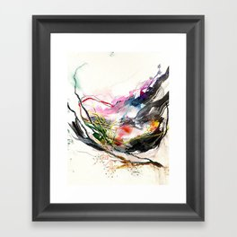 Day 58: Beauty and variety could not exist without peculiarity. Framed Art Print