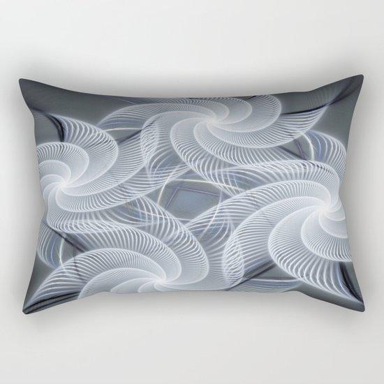 Fractal abstract with pinwheels Rectangular Pillow