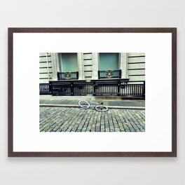 Runners Luck Framed Art Print