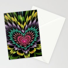 My heart explodes for you Stationery Cards
