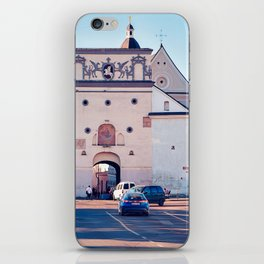 Ancient gate of Dawn into Old city iPhone Skin