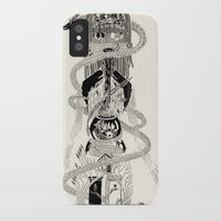 biology iPhone & iPod Cases featuring Soul Biology  by Ursula Hart