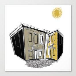 The Yellow Neighbourhood Canvas Print