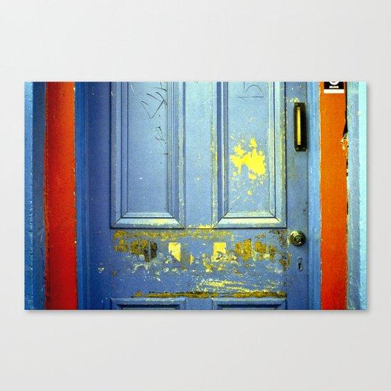 Primary Door Canvas Print