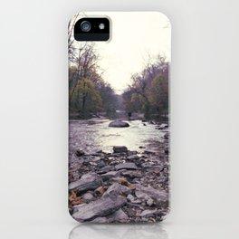 wissahickon creek iPhone Case