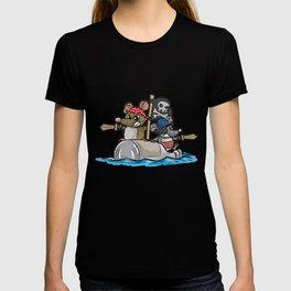 PIRATS Pirate Rat Rats Pirates Pirateship Cartoon T-shirt