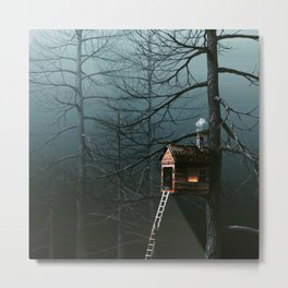 treetop apartment Metal Print
