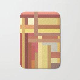 Marigold Stripes Bath Mat