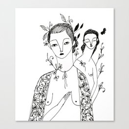 Strange Love Canvas Print