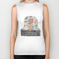 polaroid Biker Tanks featuring Polaroid by monicamarcov