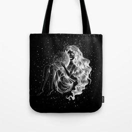Moon Child Constellation Tote Bag