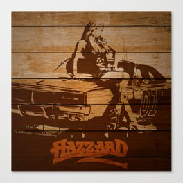 Hazzard Wood Canvas Print