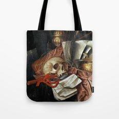 Vintage Vanitas - Still Life with skull 2 Tote Bag