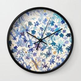 Power Flower Wall Clock