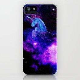 Cosmic Unicorn iPhone Case